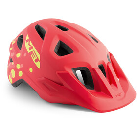 MET Eldar Lapset Pyöräilykypärä , punainen